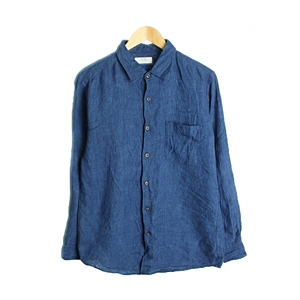 uniqlo linen shirt 1/2SHIRT( MAN )