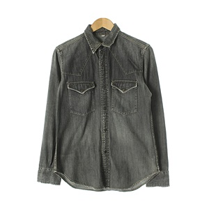 DUNHILL 면 SHIRTUNISEX Size M115, Size W-99