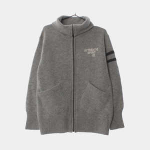 KNIT ZIP-UP EAST BOY KNIT( UNISEX )