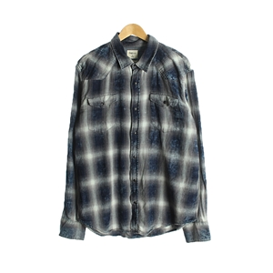 VINTAGE CHECK OVERSIZE COAT OUTER( WOMAN )