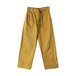 IVORY COURTPANTS( MAN - XL )