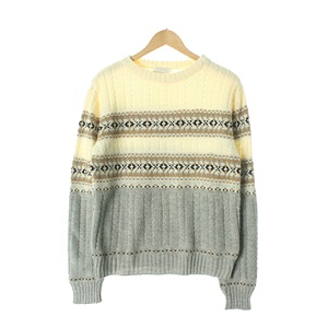 UNITED ARROWS 면 KNITWOMAN Size W77-88