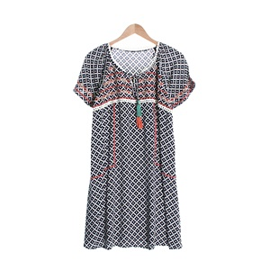 COMME CA ISM 면 1/2SHIRTUNISEX Size M115, Size W-99